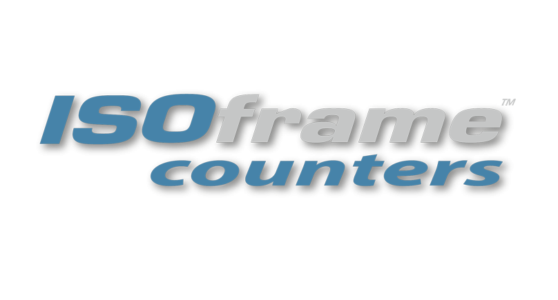 ISOframe counters logo